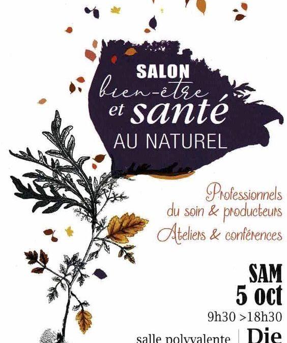 SPIRALIS MINERALIS exposant au SALON DU BIEN ETRE & SANTE AU NATUREL DE DIE le 5 Octobre 2019